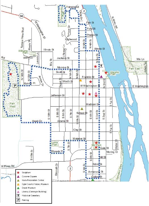 Trail System Oregon Park District